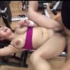 えげつない乳恵体、白石茉莉奈、ジム内でおっさんチンポでパコパコされるトレーニング!